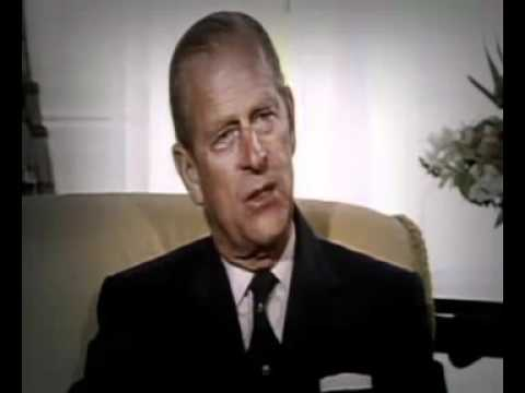 His Royal Virus Prince Philip in 1984 - Human Population Reaching Plague Proportions.
