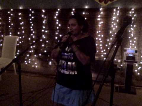Karaoke at the Unusual Shoppe, Total Eclipse of the Heart.
