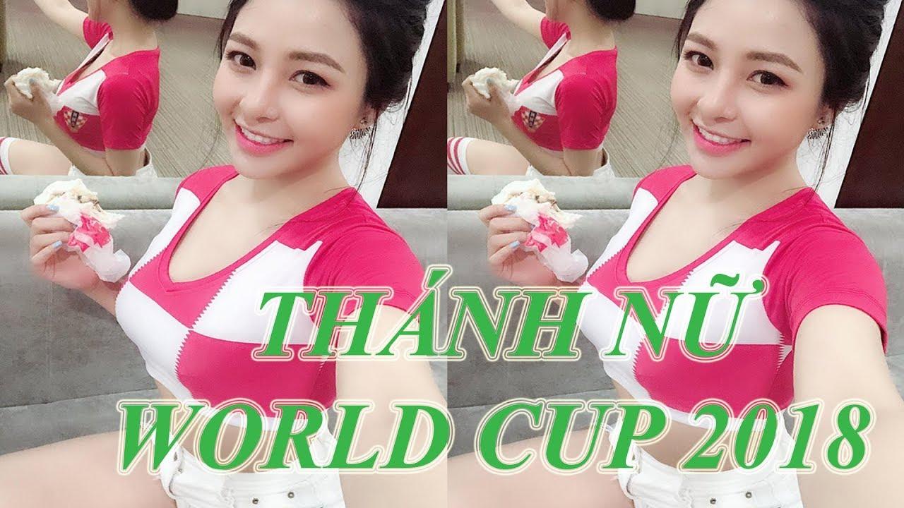 Nhan sắc nóng bỏng của HOT GIRL WORLD CUP TRÂM ANH người tình Pew Pew