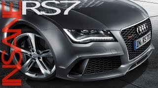Audi rs 7 sportback - dynamics at their most beautiful -- the outstanding performance with maximum efficiency twin-turbo v8: 4.0 tfsi wit...