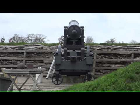 1864 - 18  april 2016 Kanon affyring