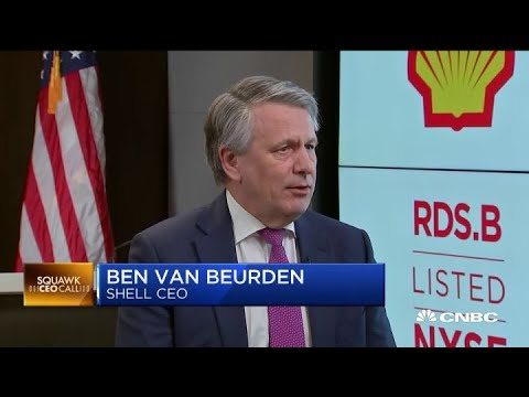 Shell CEO on Occidental's buyout of Anadarko and lagging oil stocks