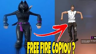 FREE FIRE COPIED THE DANCES OF THE FORTNITE? (SERA)