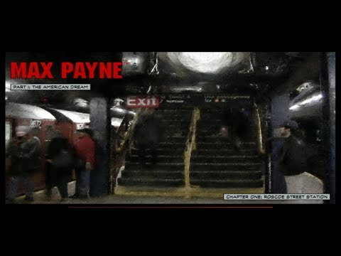 Max Payne Walkthrough - Part 1: The American Dream - Chapter 1: Roscoe Street Station