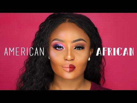 American VS African Makeup