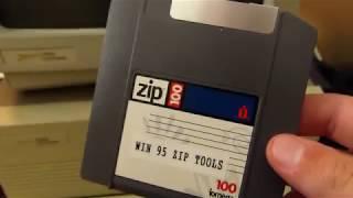 Sneak peak at this weeks video - Zip Drive on a 286