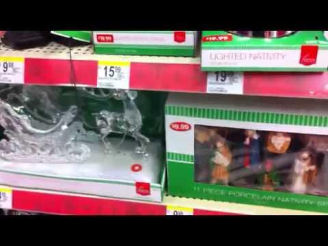 Christmas stuff at Walgreens 2013
