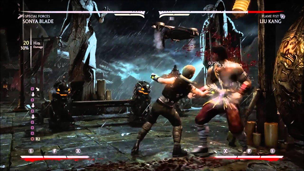 Mortal Kombat X Sonya Special Forces Drone Reset Cancel