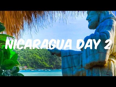 Nicaragua travel vlog day2 /visited the christ statue in san juan del sur