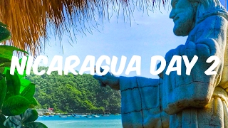 Nicaragua travel vlog day2 | what to do in san juan del sur : visited the christ statue