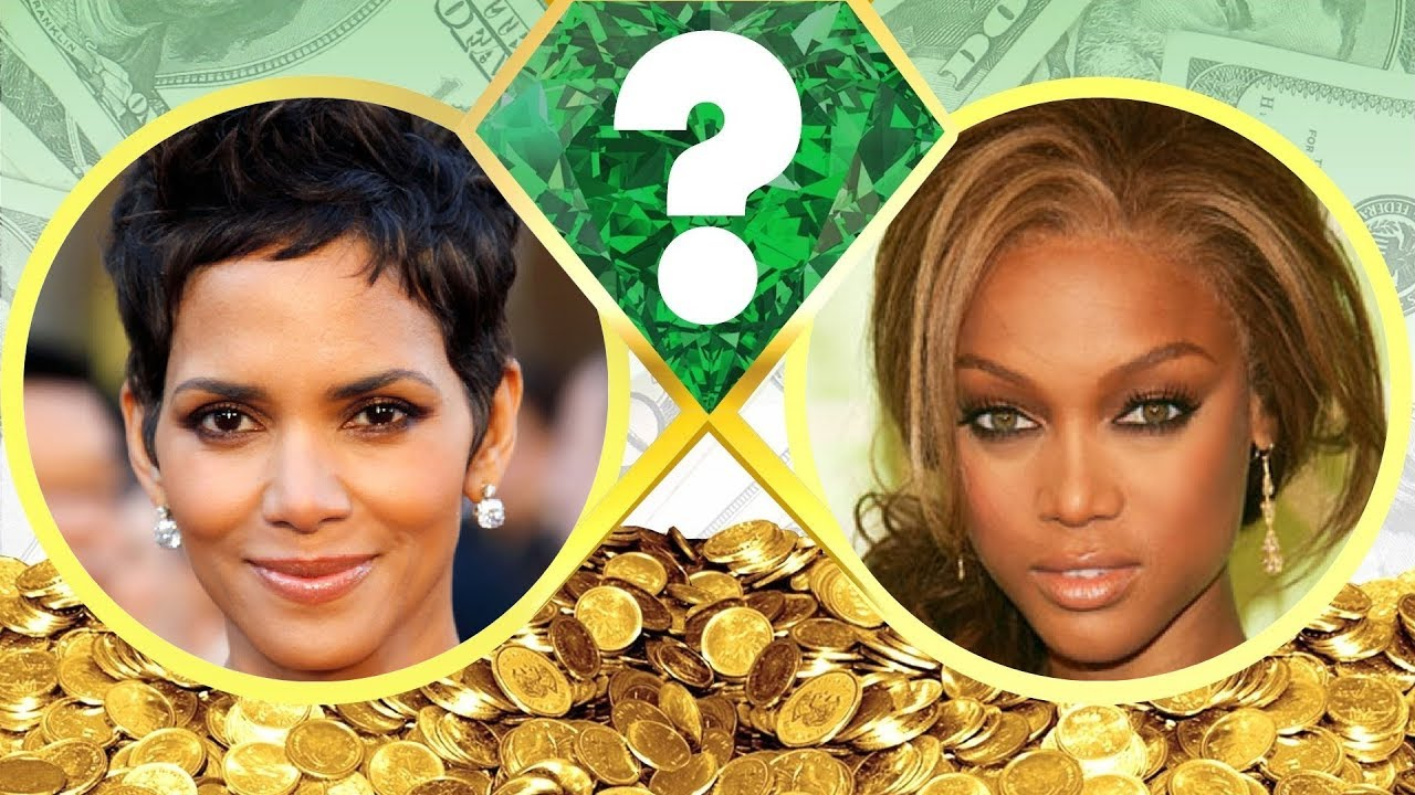 Who S Richer Halle Berry Or Tyra Banks Net Worth Revealed 2017 Youtube