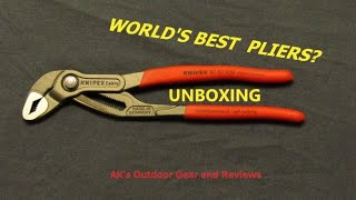 Knipex Cobra Pliers - Unboxing