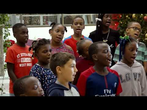 Merry Christmas from the children of 2019 ECCB Christmas Vacation Programme!