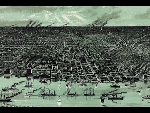 Detroit Michigan History and Cartography (1895)