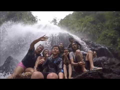 Falls and Surfing at Real, Quezon