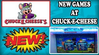 NEW arcade games at Chuck E Cheese! WOW! They have a claw machine! BONUS WINS & JACKPOTS! TeamCC