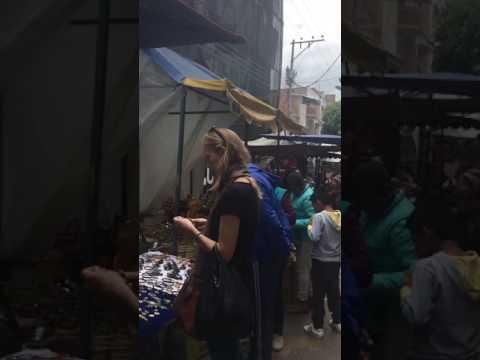 Ecuador .. quito Otavalo market