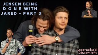 Jensen Being  D O N E  with Jared - Part 3 [CC]