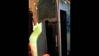 Xbox 360 60GB HDD hard drive insert and how to take out