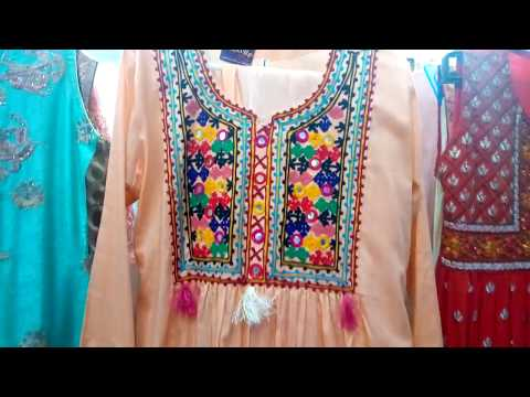 embroidery Kurtis designing by fashion consultant