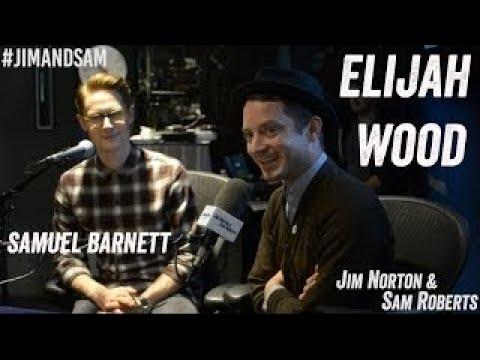 Elijah Wood & Sam Barnett in studio - Jim Norton & Sam Roberts
