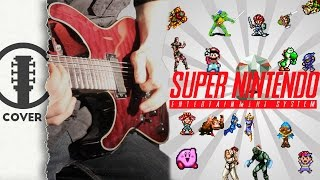 Playing With SUPER Power – A Super Nintendo Guitar Tribute // Nirre