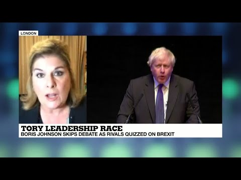 "Boris skips debate: ""It clearly is a strategy of Boris Johnson's team"""