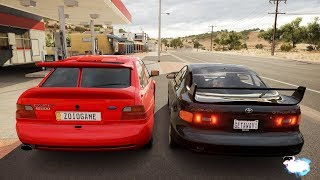 Forza Horizon 3 - Ford Escort RS Cosworth VS Toyota Celica GT-Four
