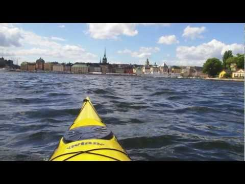 Voyage en kayak de mer en Suede dans l