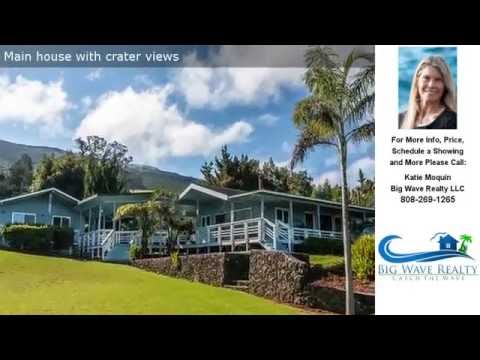 475 Alae Road, Kula, Maui, Hawaii Presented by Katie Moquin R(S)