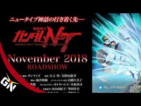 Mobile Suit Gundam Narrative Trailer & New Kits live discussion