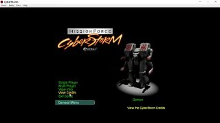 MissionForce: CyberStorm on Windows 10, native!, no shells or VMs
