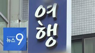 손세정제 팔고 알바로 생계…여행업계 '힘겨운 버티기' [뉴스 9]