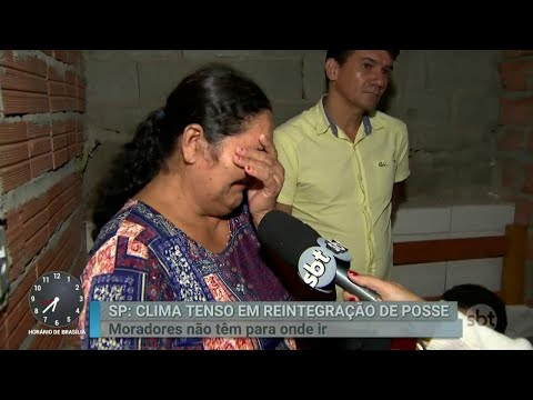 Famílias fazem apelo para barrar reintegração de posse em SP | Primeiro Impacto (11/04/18)
