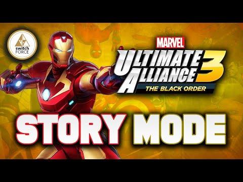Marvel Ultimate Alliance 3 Gameplay | Story Mode Part 1 (MUA 3 Black Order)