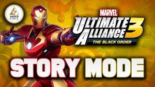 Marvel Ultimate Alliance 3 Gameplay   Story Mode Part 1 (MUA 3 Black Order)