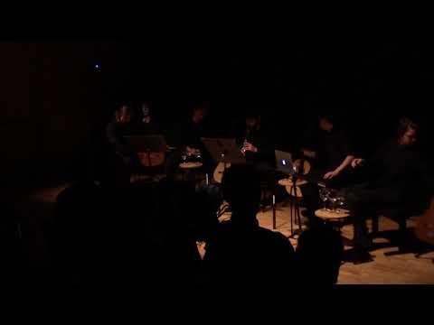 Tobias Krebs - veil (for clarinet and 4 guitars) (2017)