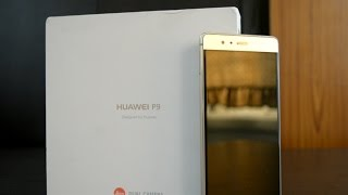 Huawei P9 (Gold Version) : Unboxing | Hiawei P 9 The Leica Dual Camera Phone