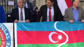 South Azerbaijani, Ahwazi, Baloch people demonstration 20/09/2015