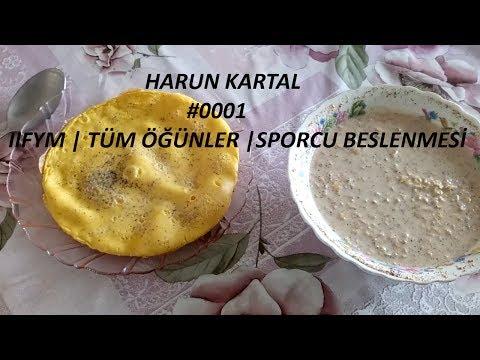 TÜM GÜN SPORCU BESLENMESİ | FULL DAY OF EATING | IIFYM #001