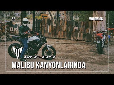 Yamaha MT-07 ile Malibu Kanyonlarında