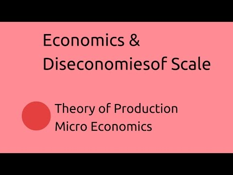 Introduction to Economics & Diseconomies of Scale | Production | CA CPT | CS & CMA Foundation