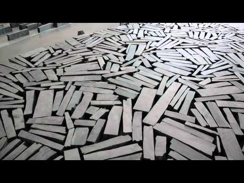 Behind the scenes Richard Long at The Hepworth Wakefield