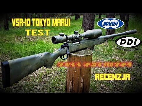 ASG Fan #5 VSR 10 TOKYO MARUI SNAJPERKA FULL PDI Recenzja / Test / Pokaz