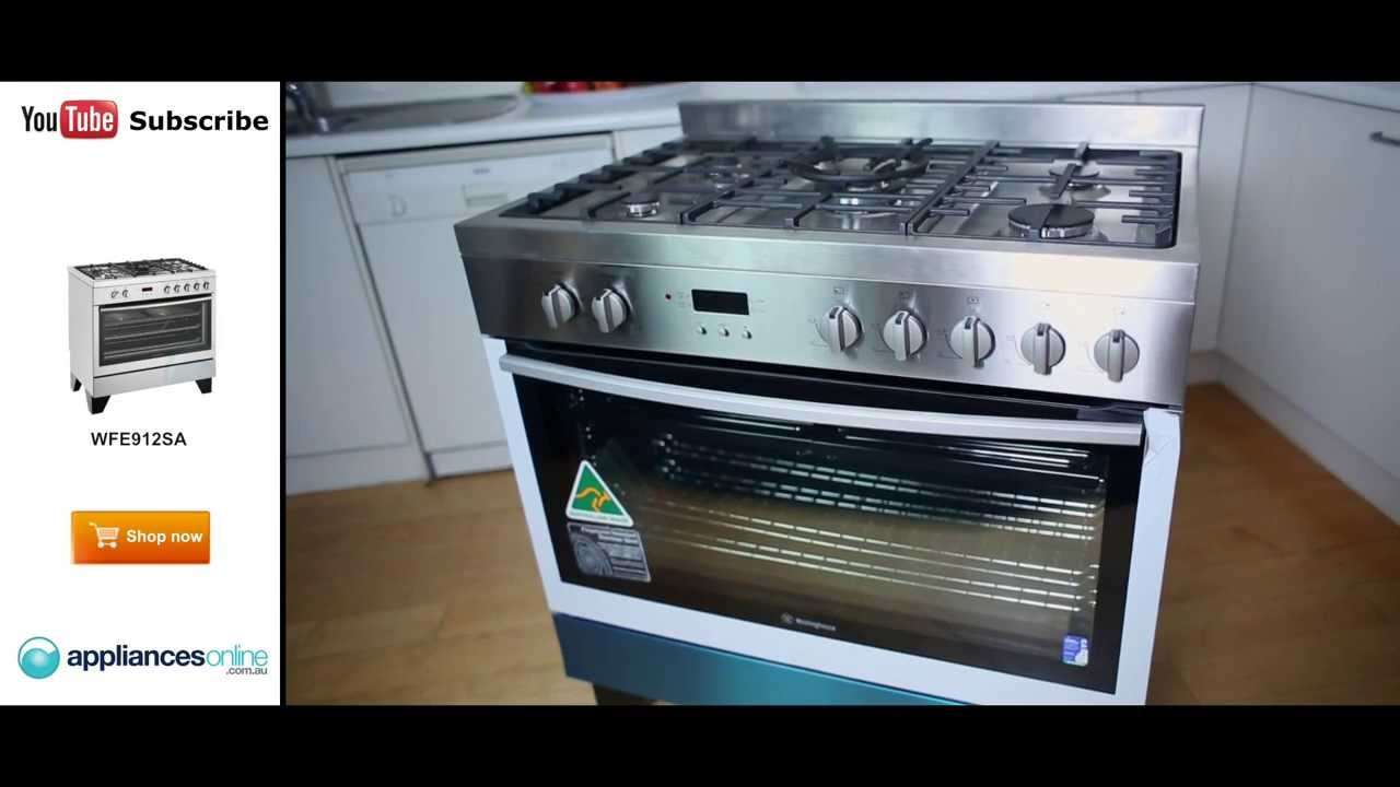 Westinghouse Kitchen Appliances Expert With The Wfe912sa Freestanding Westinghouse Dual Fuel Oven
