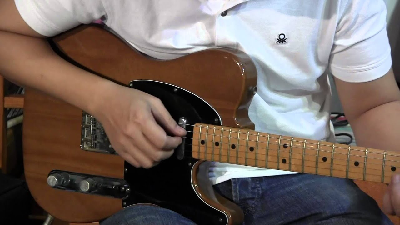 1978 Fender Telecaster Walnut Finish Youtube