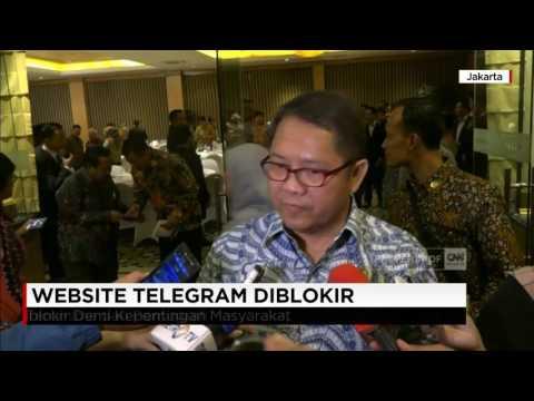 Telegram Resmi Diblokir, Google & Facebook Terancam