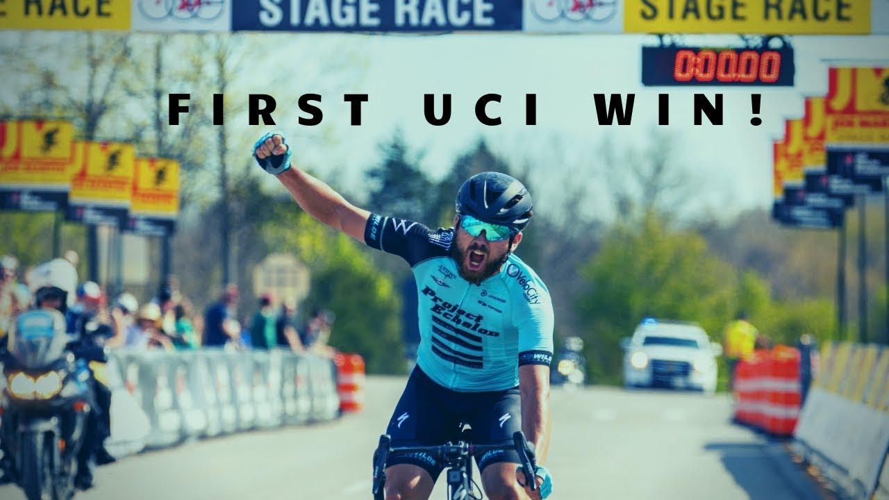 MY First UCI WIN! Joe Martin Stage Race - 2019 Recap