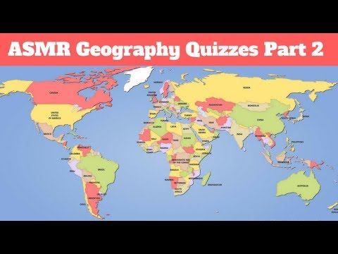 [ASMR] Soft-Spoken Geography Quizzes Part 2!