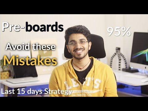 Class 12 Pre-Board Exam Strategy | for all Class 12 students